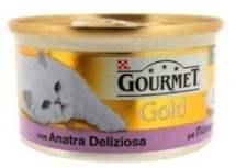 ΚΟΝΣΕΡΒΑ ΓΑΤΑΣ GOURMET GOLD ΠΑΤΕ ADULT 85 GR ΜΕ ΠΑΠΙΑ ΑΡΝΙ