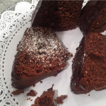 Κέικ σοκολάτας με κρέμα τυριού
