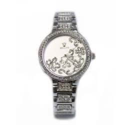 Ρολόι faux bijoux ασημί (1522)