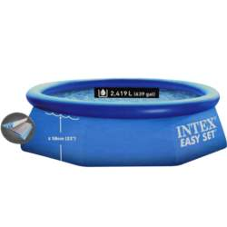 Intex Φουσκωτή Easy Set 244x76cm σε χρώμα Μπλε, 28110NP - Intex