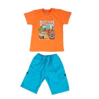 DMN - Βρεφικό σετ DMN πορτοκαλί-μπλε
