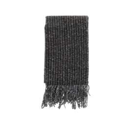HAMAKI - Ανδρικό κασκόλ HAMAKI γκρι-μαύρο