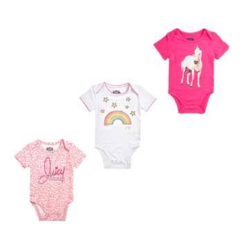 JUICY COUTURE KIDS - Σετ φορμάκια 3 τμχ JUICY COUTURE λευκά-ροζ