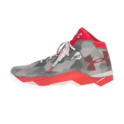UNDER ARMOUR - Ανδρικά παπούτσια μπάσκετ UNDER ARMOUR TOP GUN γκρι-κόκκινα
