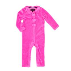 JUICY COUTURE KIDS - Βρεφικό φορμάκι JUICY COUTURE KIDS ροζ