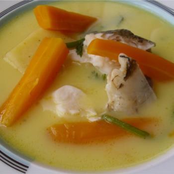 Ψαρόσουπα αυγολέμονο