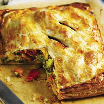Πίτα λαχανικών νηστίσιμη