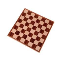 Ξύλινη Σκακιέρα 44cm Μαόνι - Δρυς