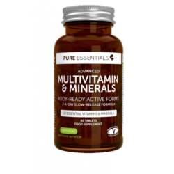 Πολυβιταμίνη & Ιχνοστοιχεία Pure Essentials Advanced (60 Ταμπλέτες)