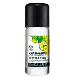 GREEN TEA & LEMON HOME FRAGRANCE OIL