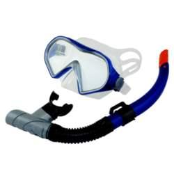 Σετ Μάσκα TPP Αναπνευστήρα Coby Χρώμα Μπλε (61528)