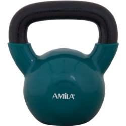 Kettlebell με Επένδυση Βινυλίου 12kg Amila 44506 Πράσινο