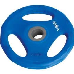 Δίσκος με Επένδυση Λάστιχου 2.5kg Amila 44415 Μπλε