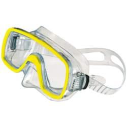 Μάσκα Θαλάσσης Salvas Sub Domino MD 52271 Διάφανη/Κίτρινη
