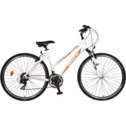"""Γυναικείο Ποδήλατο Orient Cross Avenue 28"""" Lady, Λευκό-Πορτοκαλί"""