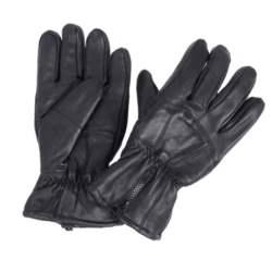Diplomat Ανδρικά Δερμάτινα Γάντια LG-802 Μαύρο, Μέγεθος Large