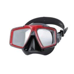 Μάσκα Σιλικόνης Malibu Εσωτερικού Όγκου 90cm Χρώμα Κόκκινο