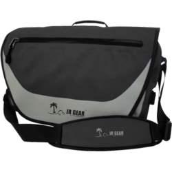 Αδιάβροχη Τσάντα Ώμου JR Gear 10+10L Μαύρη (12638)