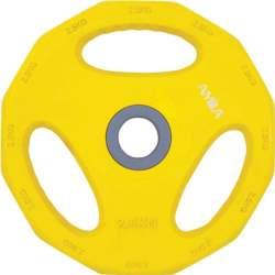 Δίσκος με Επένδυση Λάστιχου 2.5kg Amila 84516 Κίτρινος