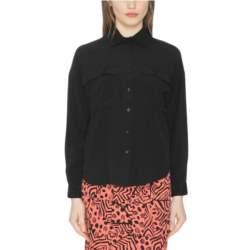 Pepaloves Leslie πουκάμισο μαύρο - 108489
