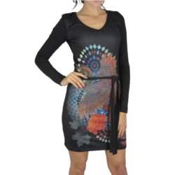 Smash μακρυμάνικο φόρεμα Glower μαύρο - 1582528