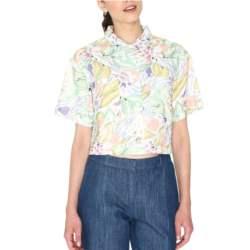 Pepaloves Gilda crop πουκάμισο - 108241