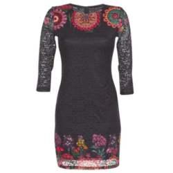 Κοντά Φορέματα Desigual DARINA Σύνθεση: Spandex,Πολυεστέρας & Σύνθεση επένδυσης: Πολυεστέρας