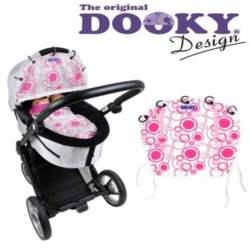 Ύφασμα Σκίαστρο Dooky - Pink Circles