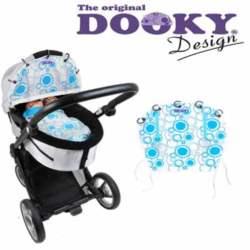 Ύφασμα Σκίαστρο Dooky - Aqua Circles