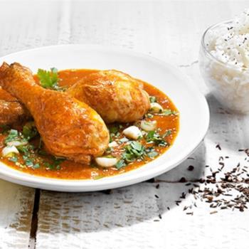 Κοτόπουλο με τέλεια σάλτσα κάρυ