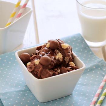 Πανεύκολο παγωτό Maltesers